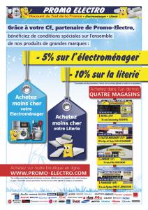 Affiche Revel Promo Electro CE