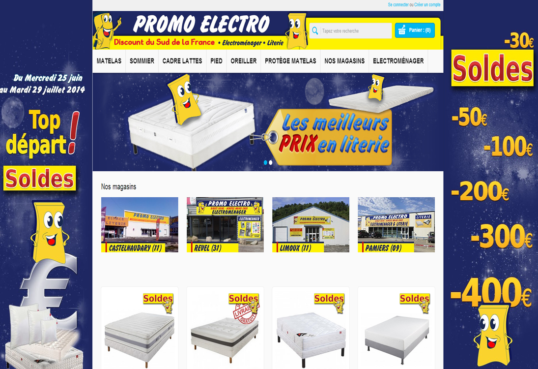 promo electro discount du sud de la france en. Black Bedroom Furniture Sets. Home Design Ideas