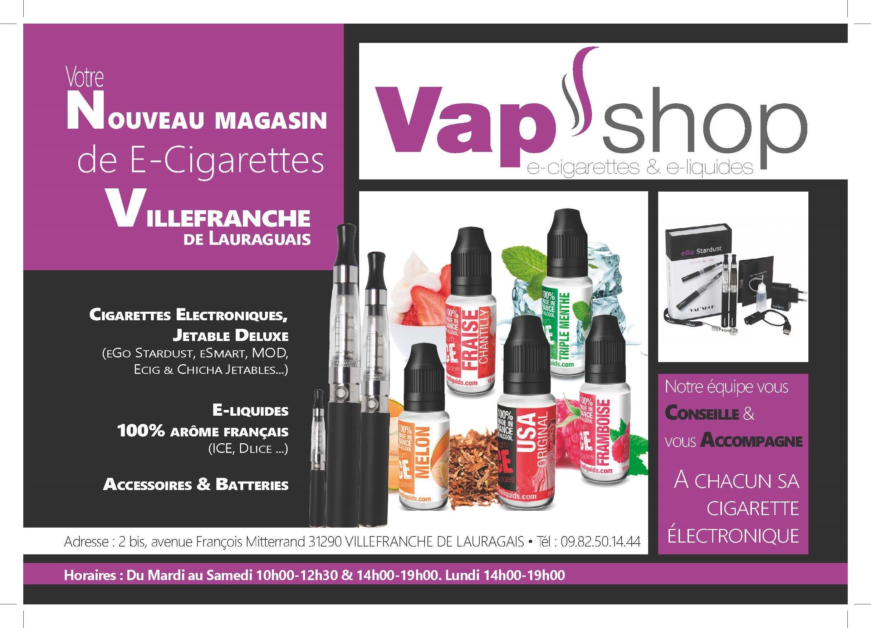 Vapshop Villefranche PUB
